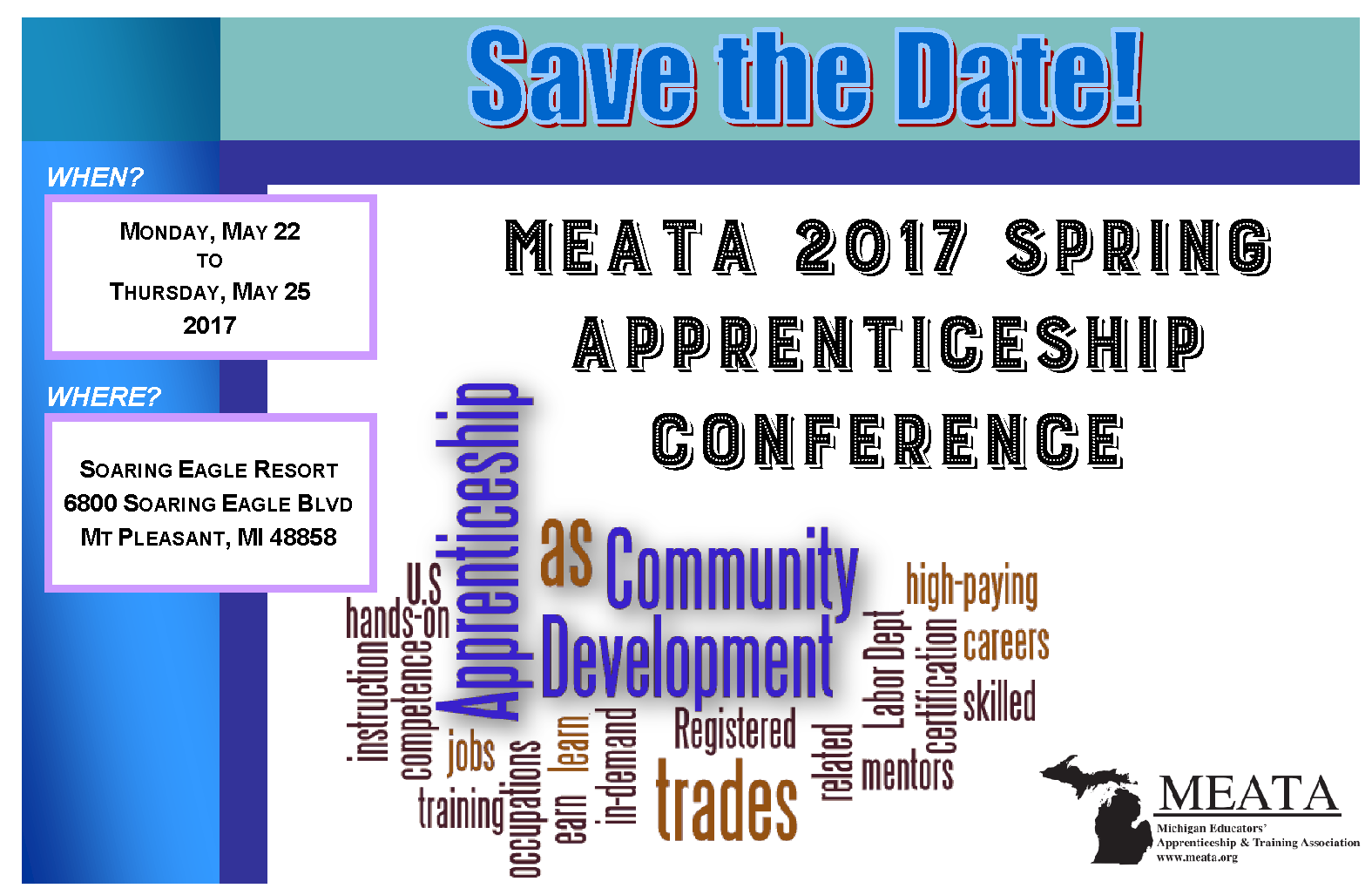 2017 Spring Conf Save the Date